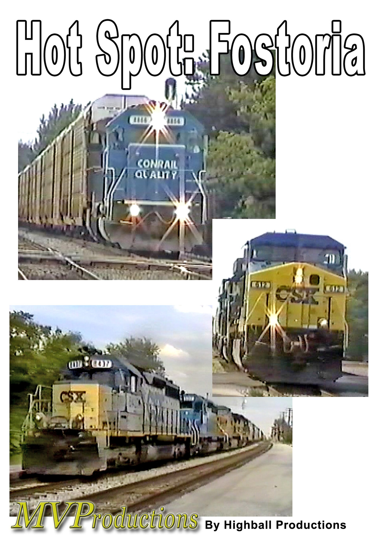 Hot Spot: Fostoria Train Video Midwest Video Productions MVFOS 601577880011