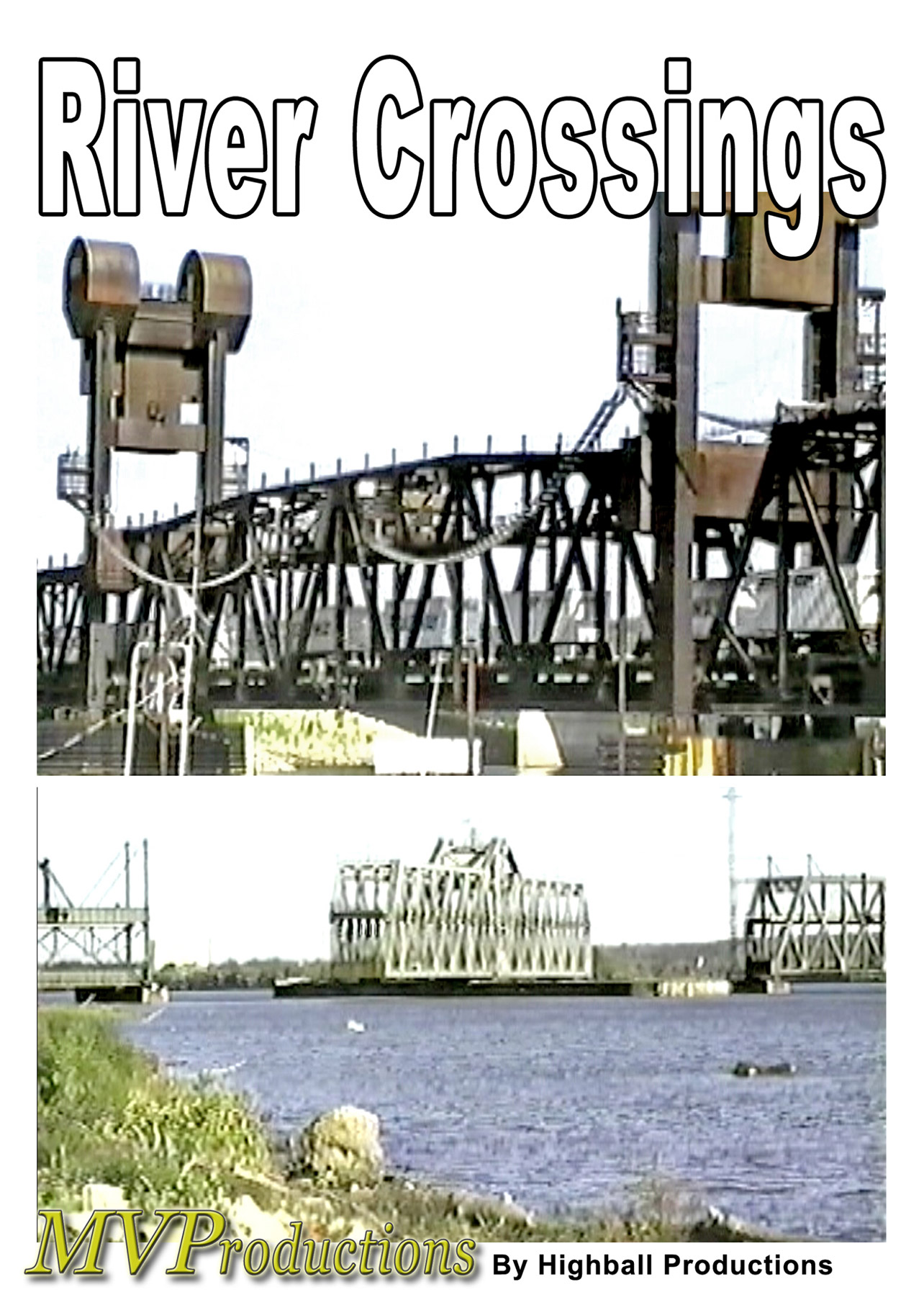River Crossings Train Video Midwest Video Productions MVRC 601577879961