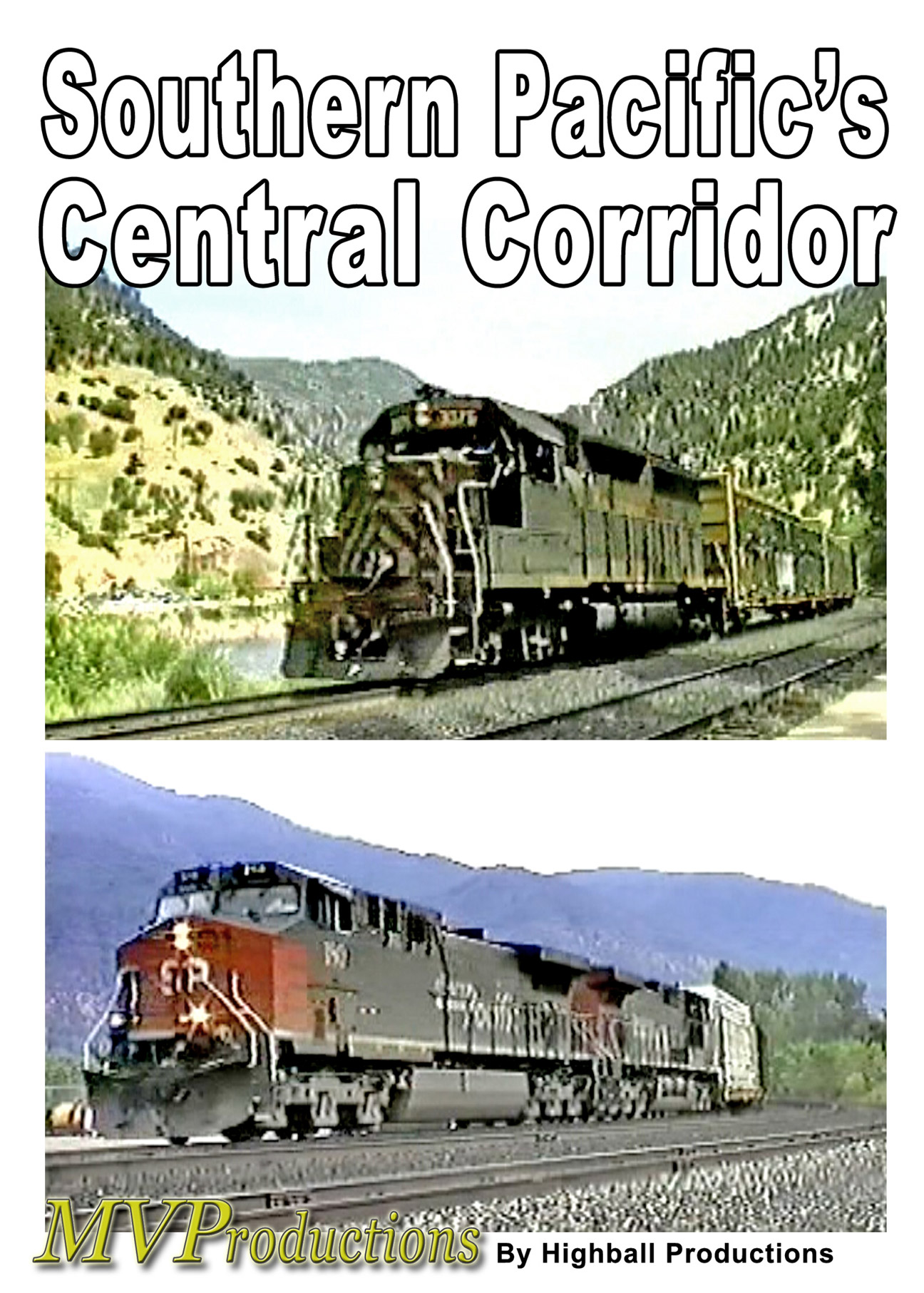 Southern Pacific Central Corridor Midwest Video Productions MVSPCC 601577880073