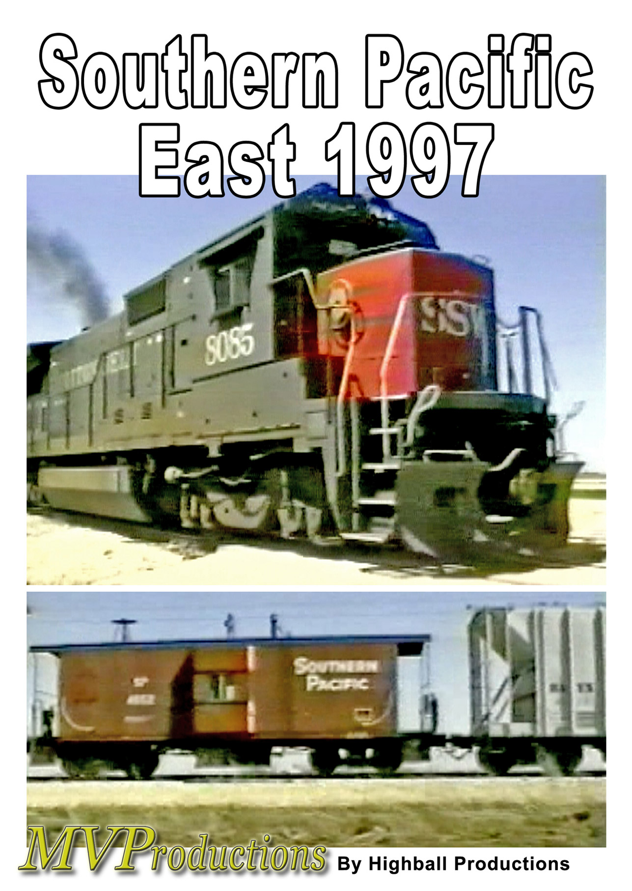 Southern Pacific  East 1997 DVD Midwest Video Productions MVSPE 601577880066