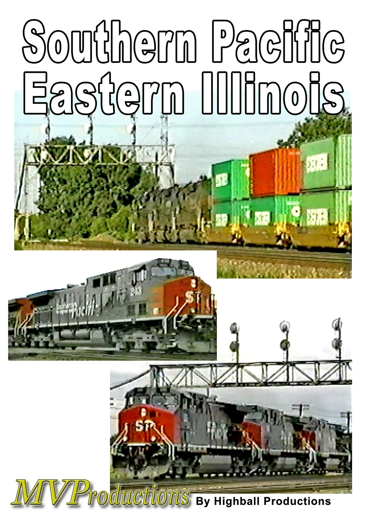 Southern Pacific Eastearn Illinois DVD Midwest Video Productions MVSPEI 601577880080