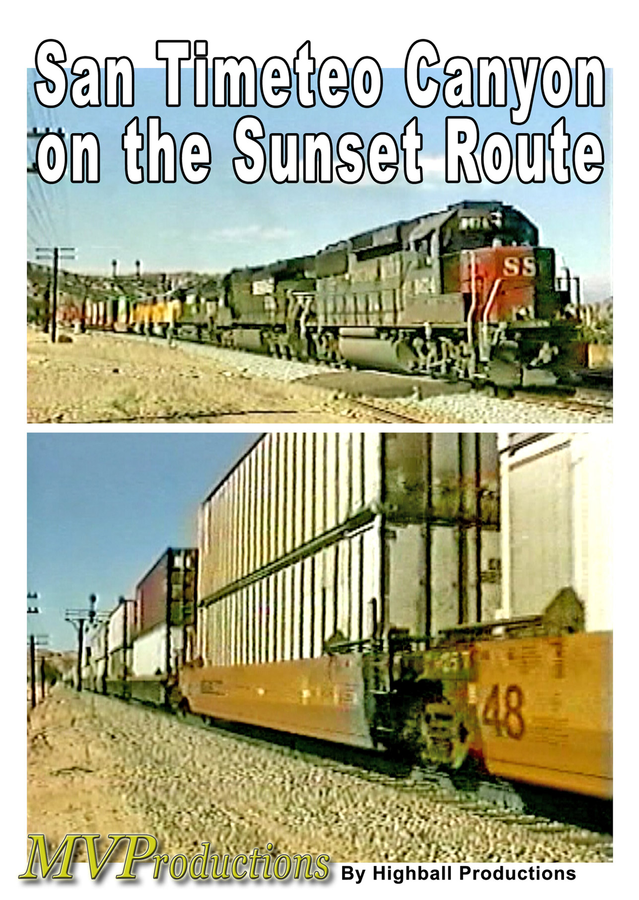 San Timoteo Canyon on the Sunset Route Midwest Video Productions MVSTC 601577880202