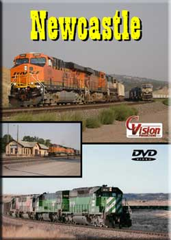 Newcastle DVD Train Video C Vision Productions NCLDVD