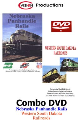 Nebraska Panhandle Rails & Western So. Dakota RRs DVD Train Video C Vision Productions NSDDVD