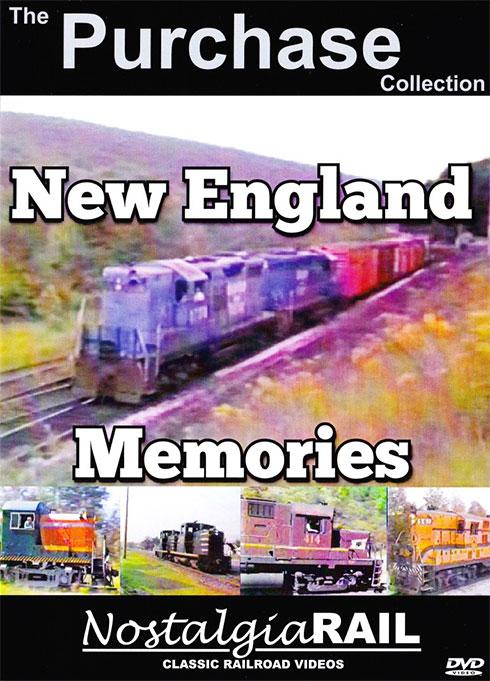 Purchase Collection - New England Memories DVD NostalgiaRail Video PCNEM