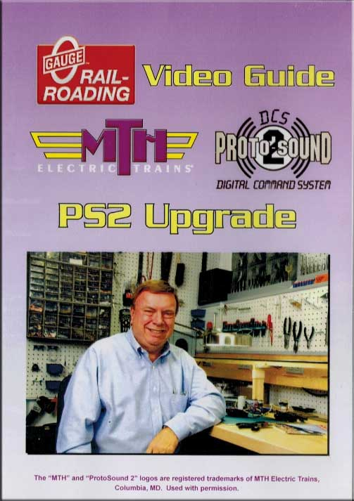 Jim Barrett in the Backshop Volume 12 PS2 Upgrade DVD Train Video OGR Publishing BS-12