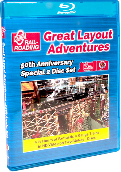 Great Layout Adventures 50th Anniversary Special 2 Disc Set BLU-RAY ONLY OGR Publishing 50YEARD 850541005470