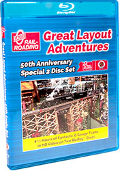 Great Layout Adventures 50th Anniversary Special 2 Disc Set BLU-RAY ONLY