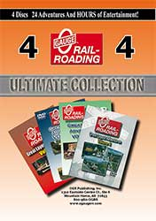 Great Layout Adventures Ultimate Collection 4 DVD Set