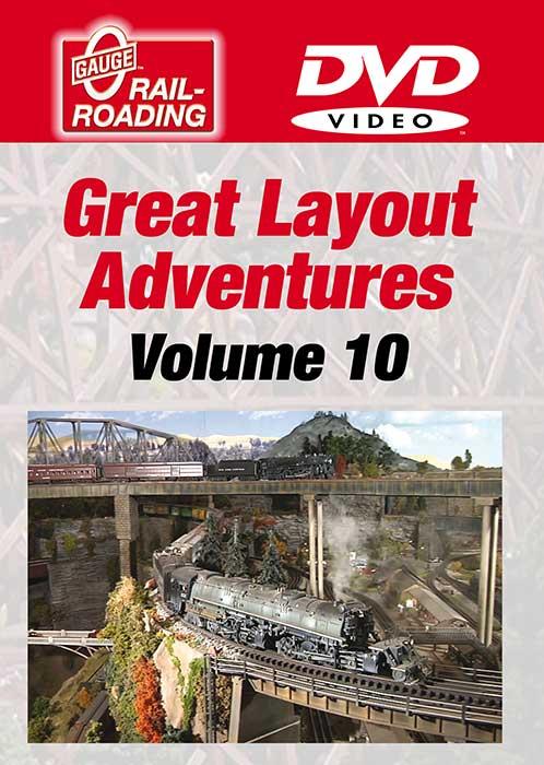 Great Layout Adventures Volume 10 DVD OGR Publishing GLA-10D 856878005582
