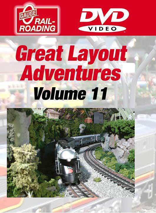 Great Layout Adventures Volume 11 DVD OGR Publishing GLA-11D 850541006364