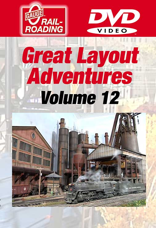 Great Layout Adventures Volume 12 DVD OGR Publishing GLA-12D 850541006388