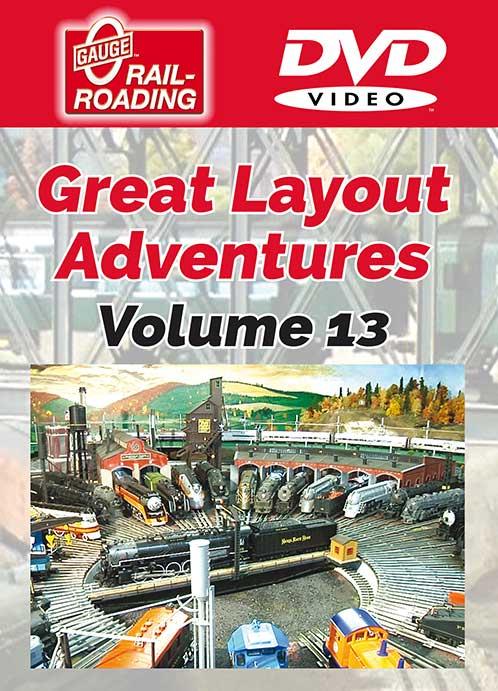 Great Layout Adventures Volume 13 DVD OGR Publishing GLA-13D 850541006401