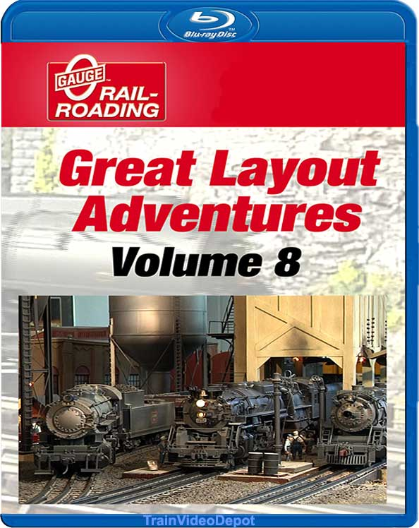 Great Layout Adventures Volume 8 BLU-RAY OGR Publishing GLA-8B 856878005551