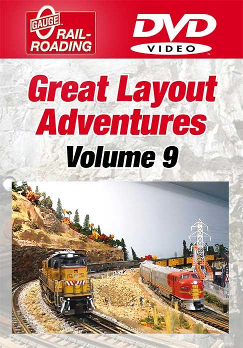 Great Layout Adventures Volume 9 DVD OGR Publishing GLA-9D 856878005568