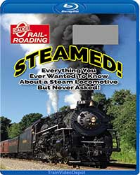 Steamed! Everything About A Steam Locomotive BLU-RAY