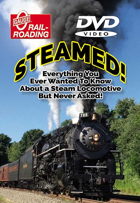 Steamed! Everything About A Steam Locomotive DVD OGR Publishing STEAMEDD 850541006432