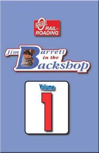 Jim Barrett in the Backshop Volume 1 DVD OGR Publishing V-BS-01