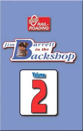 Jim Barrett in the Backshop Volume 2 DVD OGR Publishing V-BS-02