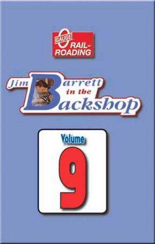 Jim Barrett in the Backshop Volume 9 DVD Train Video OGR Publishing V-BS-09