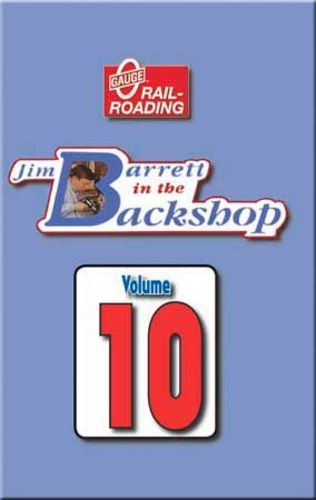 Jim Barrett in the Backshop Volume 10 DVD Train Video OGR Publishing V-BS-10
