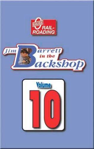 Jim Barrett in the Backshop Volume 10 DVD OGR Publishing V-BS-10