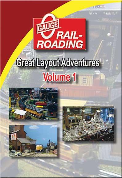 Great Layout Adventures Vol 1 DVD OGR Publishing V-GLA-1