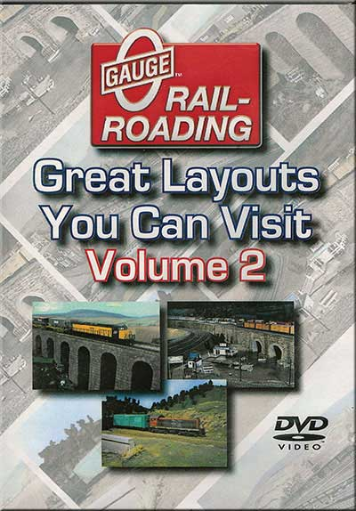 Great Layout Adventures Vol 2 DVD OGR Publishing V-GLA-2