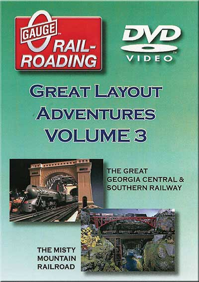 Great Layout Adventures Vol 3 DVD OGR Publishing V-GLA-3