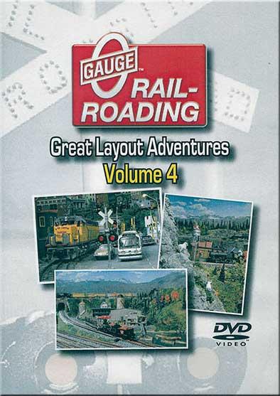 Great Layout Adventures Vol 4 DVD Train Video OGR Publishing V-GLA-4