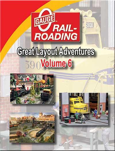 Great Layout Adventures Vol 6 DVD OGR Publishing V-GLA-6