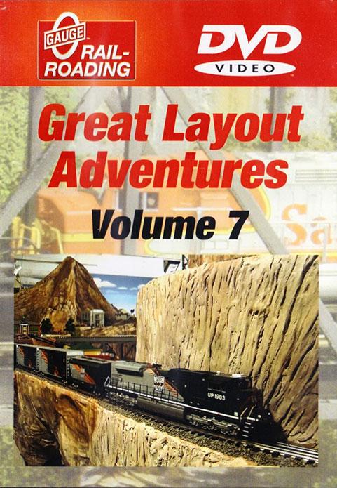 Great Layout Adventures Vol 7 DVD OGR Publishing V-GLA-7-DVD