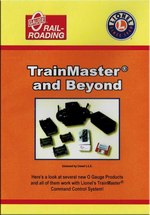 TrainMaster and Beyond Command Control DVD Train Video OGR Publishing V-TMCC-02