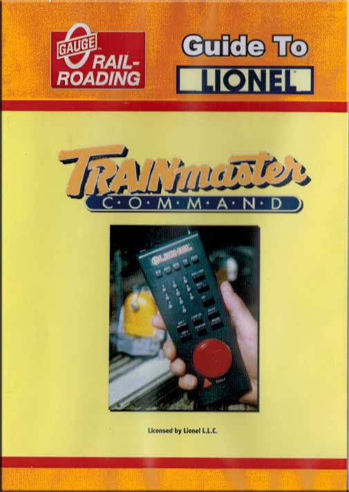 Guide to the Lionel Trainmaster Command System DVD OGR Publishing V-TMCC-1