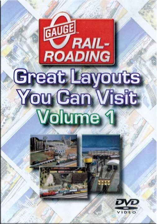 Great Model Railroad Layouts You Can Visit Volume 1 DVD Train Video OGR Publishing V-VISITS-01