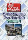 Great Model Railroad Layouts You Can Visit Volume 1 DVD