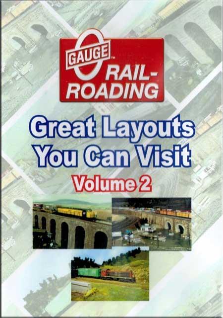 Great Model Railroad Layouts You Can Visit Volume 2 DVD OGR Publishing V-VISITS-02