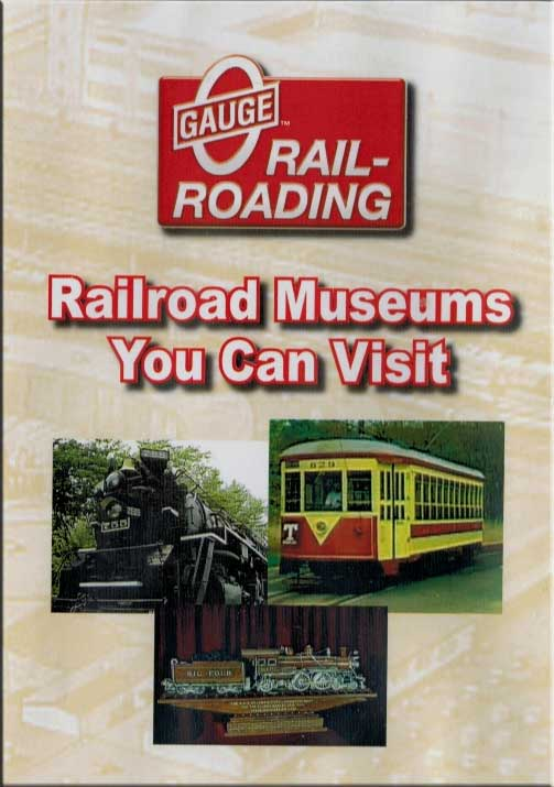 Seven Railroad Museums You Can Visit DVD Train Video OGR Publishing V-VISITS-03
