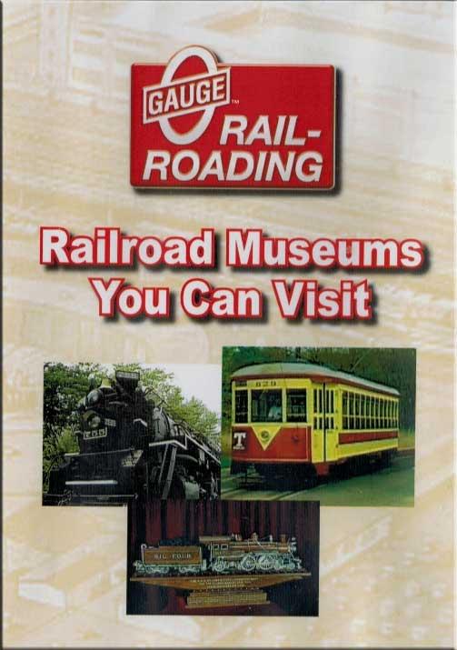 Seven Railroad Museums You Can Visit DVD OGR Publishing V-VISITS-03
