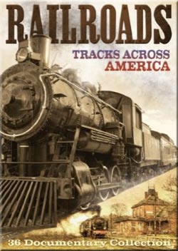 Railroads: Tracks Across America 2 DVD Set 12+ Hours Train Video Misc Producers 509604 683904509604