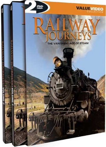 Railway Journeys - The Vanishing Age of Steam 2 DVD Set 4 hours Train Video Misc Producers 51083 628261108398