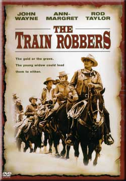 Movie: The Train Robbers (1973) John Wayne Ann-Margaret Misc Producers 69226 085391158677