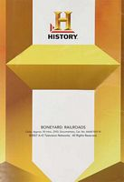 History Channel Boneyard: Railroads DVD