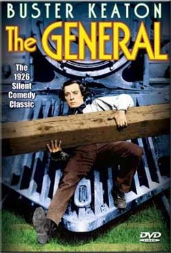 Movie: The General - Buster Keaton DVD (1927) Train Video Misc Producers ALP4128D 089218412898