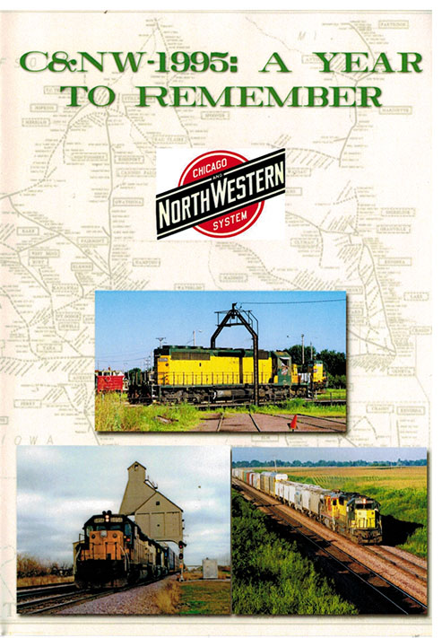C&NW 1995 A Year to Remember 2 DIsc DVD Train Video Misc Producers CNW1995