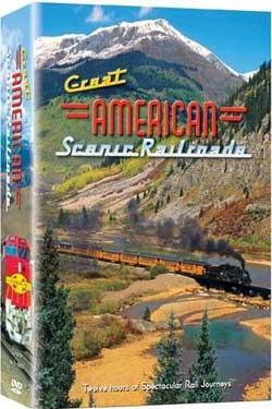 Great American Scenic Railroads 6 DVD Set 12 Hours Train Video Misc Producers QD3804 033937038044