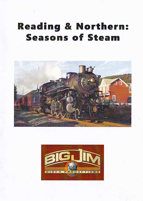 Reading & Northern Seasons of Steam DVD Big Jim Video RNSOSD