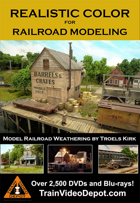 Realistic Color for Railroad Modeling by Troels Kirk DVD Misc Producers TVD-RCRM 658704167491