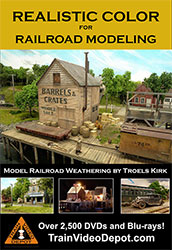 Realistic Color for Railroad Modeling by Troels Kirk DVD