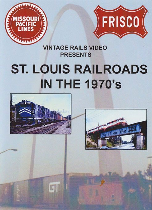 St Louis Railroads in the 1970s DVD Train Video Misc Producers STL70
